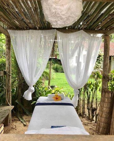 Você pode agendar uma massagem deliciosa e relaxante.
