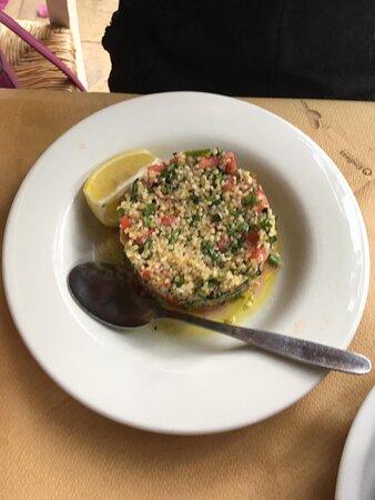 Taboulah salad