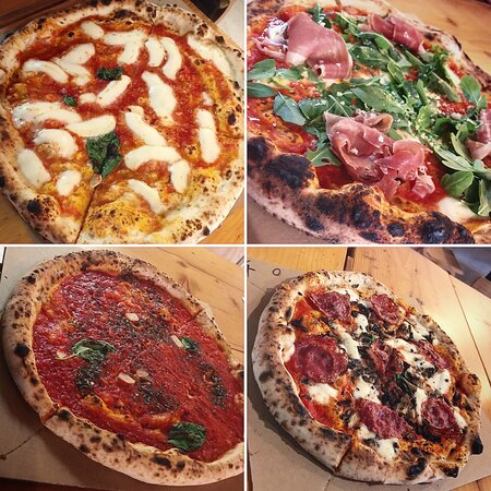 Great pizza in heart of Budapest