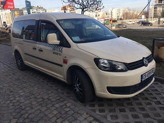 Περιοχή Σόφιας, Βουλγαρία: For group 1 - 6 passengers: VW CADDY MAXY 6+1 passengers,  FREE Wi-Fi, fully Insured, air condition, extra luggage for ski, snowboard.