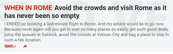 When In Rome Tours