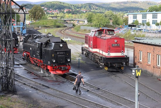 Drei Annen Hohne, Tyskland: HSB - Brockenbahn (aug 2020)