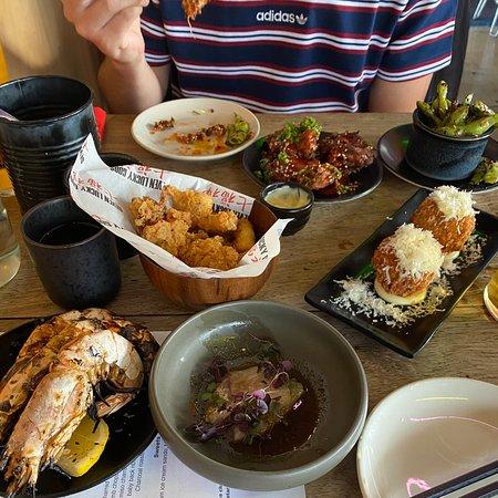 Unreal Japanese street food.