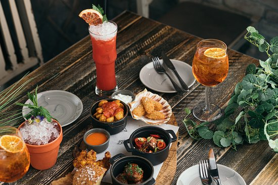 Tasty Hot board and Cocktails - Picture of The Botanist, Reading ...