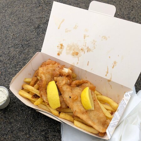 Excellent fish and chips