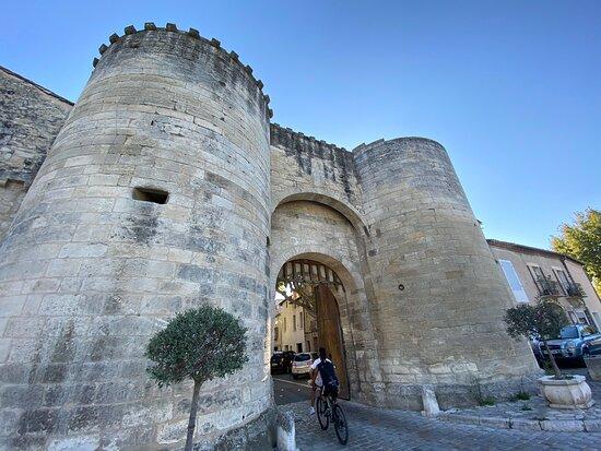 Porte Condamine Tarascon City Gate