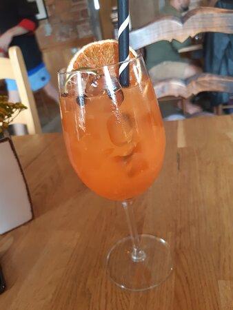 Suuresadama, Estonia: Aperol Spritz contains orange juice (if you want of course)