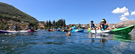 Sea Kayaking Zakynthos