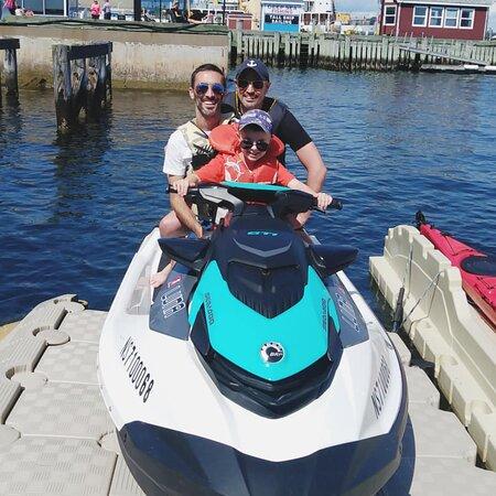 Sea-Doo Tours: Family Sea-Doo Ride.
