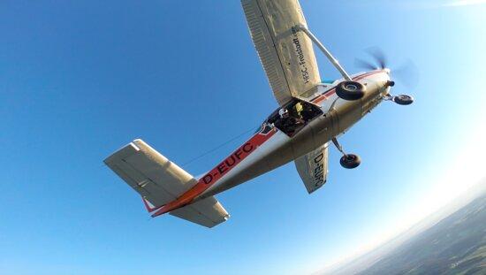 Άνω Αυστρία, Αυστρία: Absetzflugzeug