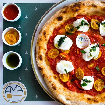 """AMA officina della pizza  """"La differenza tra qualcosa di buono e qualcosa di grande è l'attenzione ai dettagli."""""""