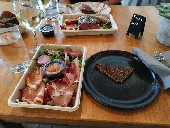 Svebølle, Danmark: Tapas meget delikat