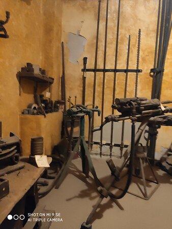 Museo Minerario - attrezzi