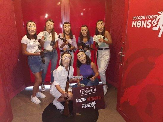 Escape Room Mons