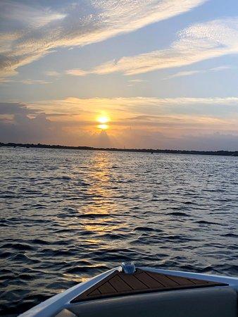 Florida Lake Tours: Beautiful Lake Butler Sunset