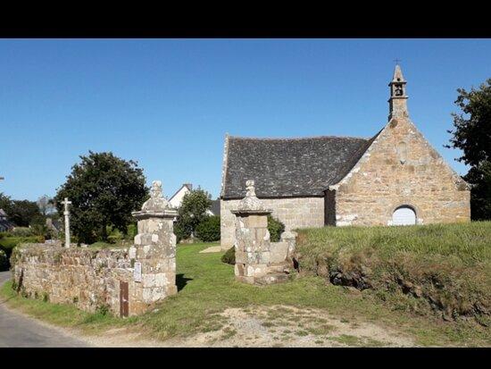 Chapelle Saint-Gorgon à Trégastel
