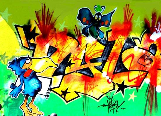 """Fresque De Nebay """" L'art Est Dans La Rue """""""