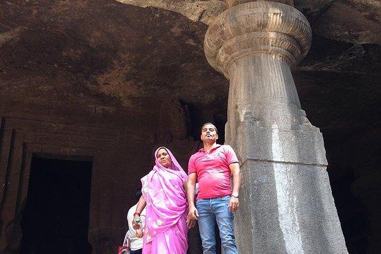 Utflukt til Elephanta Caves og City...