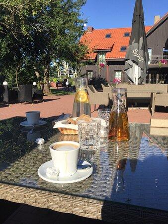 Rusne, ليتوانيا: breakfast 