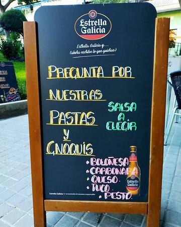Pregunta por nuestras pastas y Gnoquis  ¡ combínalas con nuestras salsas !