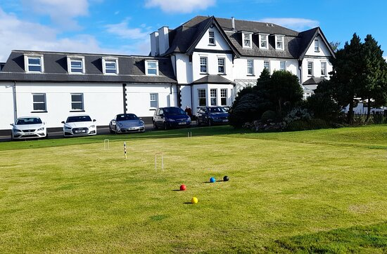 Ilsington, UK: Croquet lawn