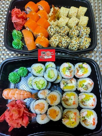 The Golden Mix by Syake Sushi Hurghada