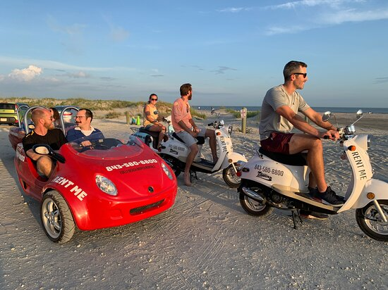 Folly Beach Moped Rentals