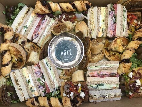 Warwickshire, UK: Vegetarian Platter Box