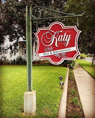The Katy House sign