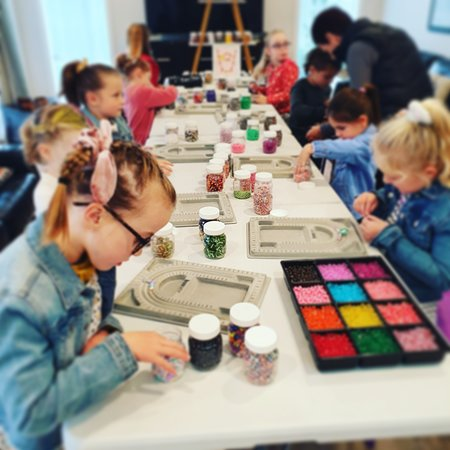 Our school holiday workshops are held at Creative Arts Napier (16 Byron St).  You'll find us upstairs in their beautiful mezzanine studio.  Dates, times, pricing & more detailed workshop information can be found on our website www.stbeads.co.nz  We look forward to seeing you @ the CAN!