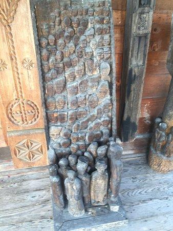 Maramures County, Rumania: decoration...