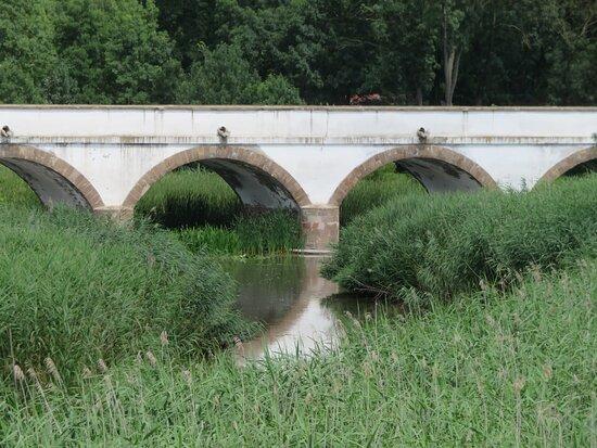 Hortobagy, Macaristan: HU: Hortobágy; Neunbogenbrücke