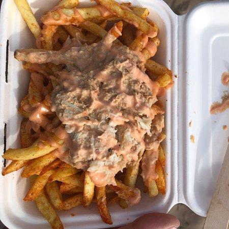 Crabbie fries omg