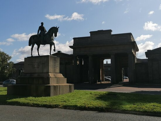 Equestrian Statue Of Viscount Combermere