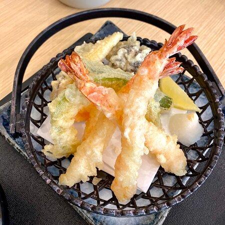 Poor quality tempura
