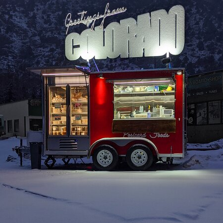 Downieville, CO: Our trailer, open all year round