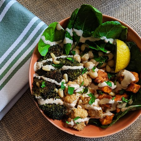 Downieville, CO: We offer a variety of salad and quinoa bowls