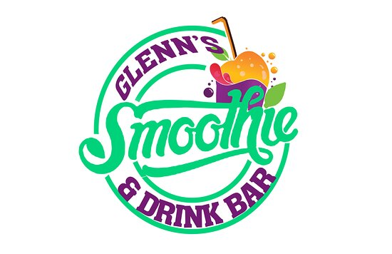 ‪‪Glenn's Smoothie & Drink Bar‬: Logo‬