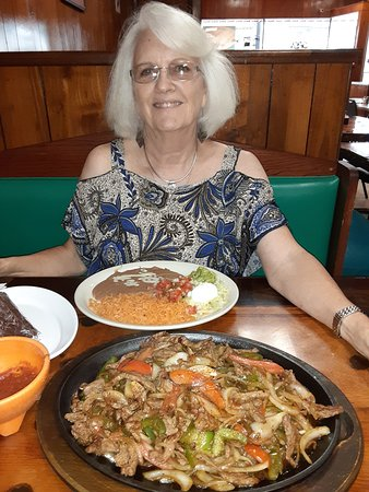 Vega's Burritos: Huge Steak Fajita for 2.. Happy BD Char.9.9.20....by Carl H. =)~