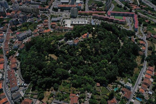 Gondomar, Portugal: Fotografia aérea do Monte Crasto