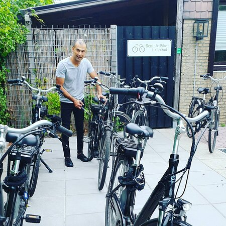 Fietsverhuur: Rent A Bike Lelystad