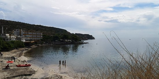 Spiaggia piccola e carina