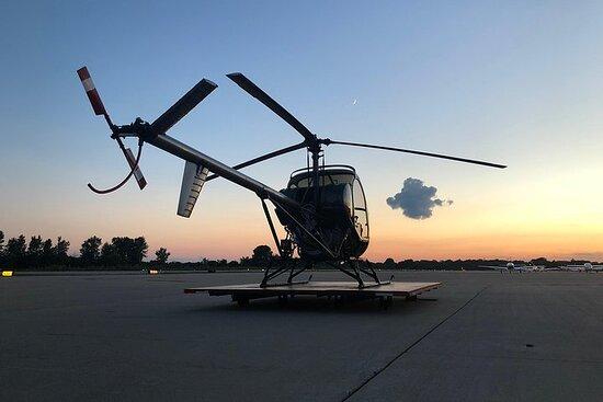 Aprenda a volar un helicóptero: vuelo de introducción del piloto de...