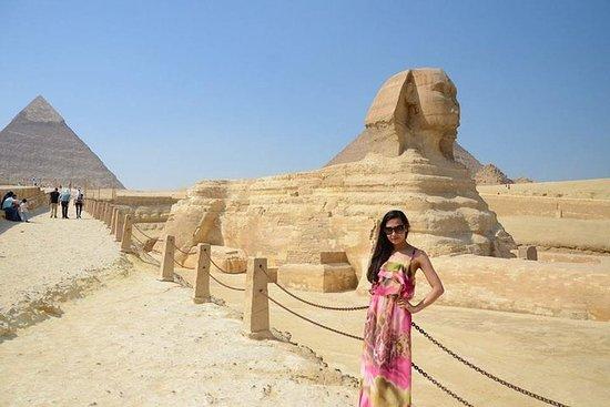 Pyramides de Gizeh, musée égyptien et...