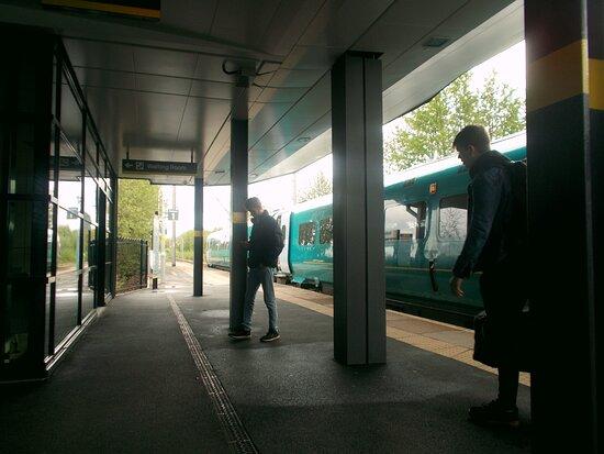 Newton-le-willows Railway Station