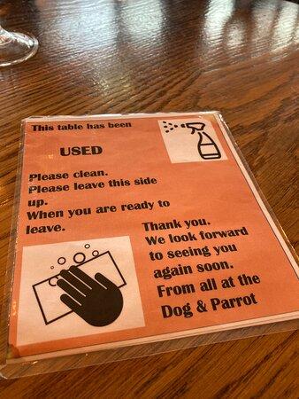 Prob the best covid aware pub by far !