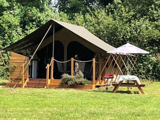 Uffculme, UK: Beautiful Tent