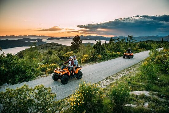 Dubrovnik Countryside and Arboretum ATV Tour with Brunch