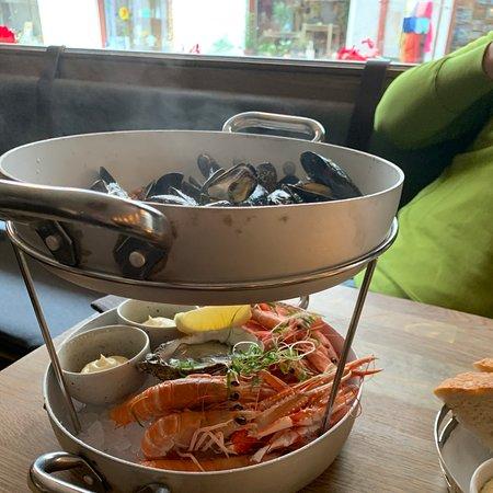 Sea food plater.