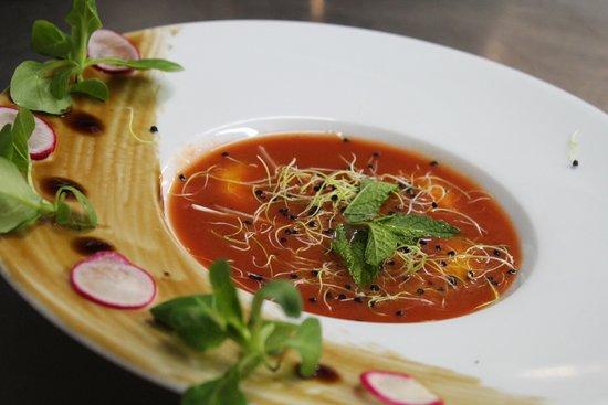 Gaspacho de tomates
